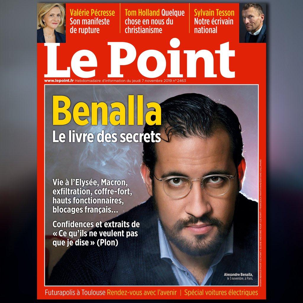 Le Point S Tweet Benalla Le Livre Des Secrets Vie A