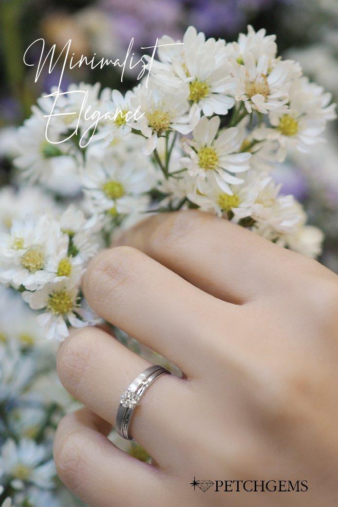เลือกสรรแหวนเพชรแต่งงาน เชียงใหม่ ให้ทุกวันเป็นวันที่พิเศษของคุณ แหวนเพชรออกแบบได้นะคะ เพื่อเหมาะสมกับงบประมาณค่ะ #แหวนเพชร เพชร 1 เม็ด สี 95 (I color) vvs1 น้ำหนัก 0.15 กะรัต ราคาปกติ 16,000 บาท ราคาพิเศษ 12,800 บาท  📍เซ็นทรัลพลาซา เชียงใหม่ แอร์พอร์ต ชั้น 2