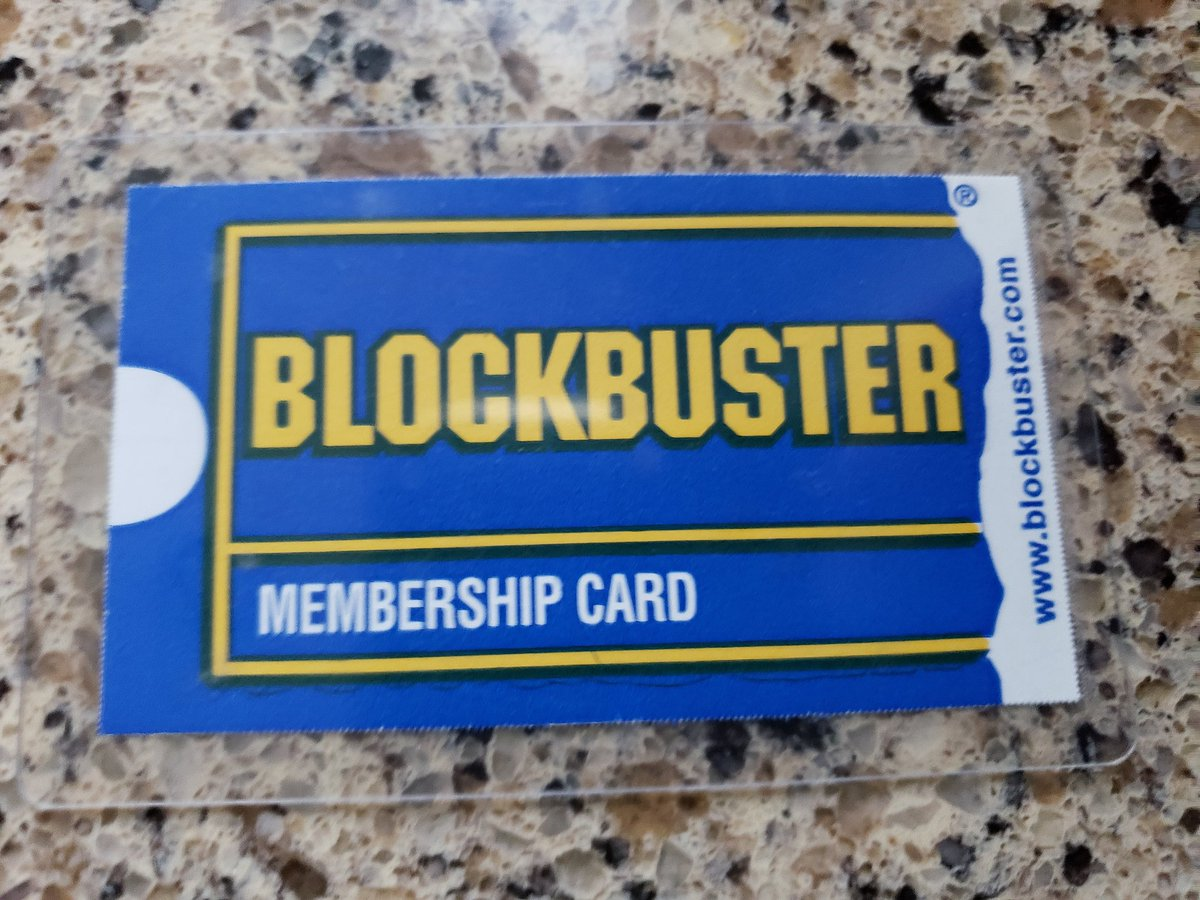 Getting new furniture, cleaning out an old cabinet. Found this gem ...  #blockbustervideo pic.twitter.com/9LIS2triVc