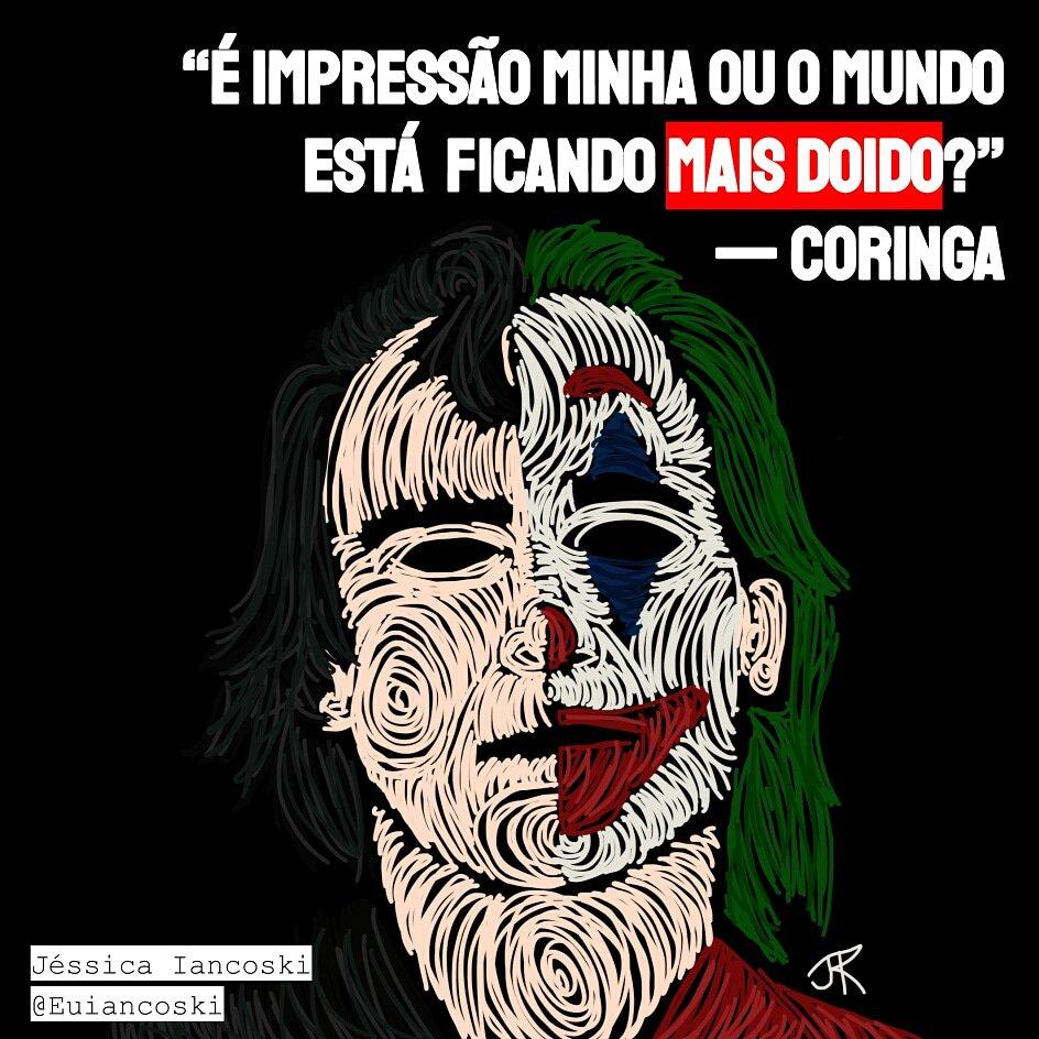 #Euiancoski #Ilustração #Desenho #Brasil #Art #Frase #Drawing #illustration  #Verso #Literatura #Reflexão #poeta #frasesdeamor #textos #instafrases #dor #existencia #sofrimento #coringa #frasesdeamor #frasesdefilmes #filmes #filmes2019 #oscar2019 #coringaloko #coringaearlequinapic.twitter.com/pYpcnzd503