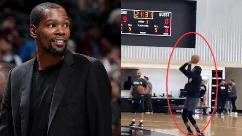 【影片】恢復神速!杜蘭特已能運球投籃,籃網主帥:他的新身份是球隊助教!