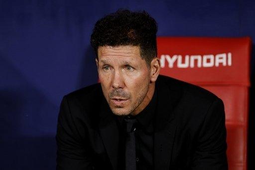 Atletico Madrid 🇪🇸 2 wins in their last 9 La Liga games 🇩🇪 2-0 down vs. Bayer Leverkusen Work to do for Diego Simeone