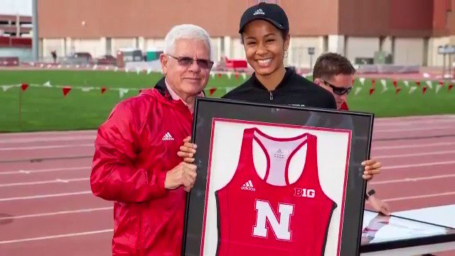 2019 NCAA Woman of the Year Angela Mercurio volunteered at a local free medical clinic in India, planned STEM programs for young girls and was the @bigten triple jump champion all during her time with the @Huskers. #NCAAWOTY