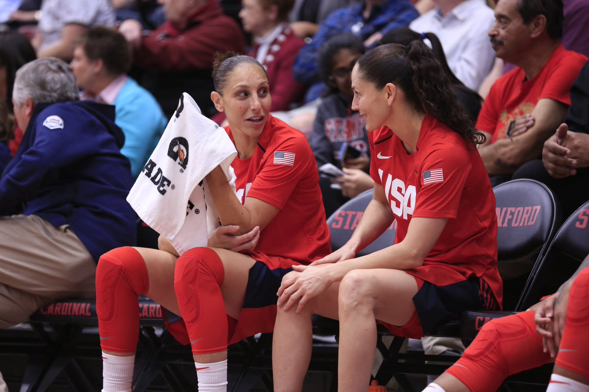 "🐐 Fill in the blank 🐐 One GOAT says to another GOAT: ""________________"" @S10Bird @DianaTaurasi"