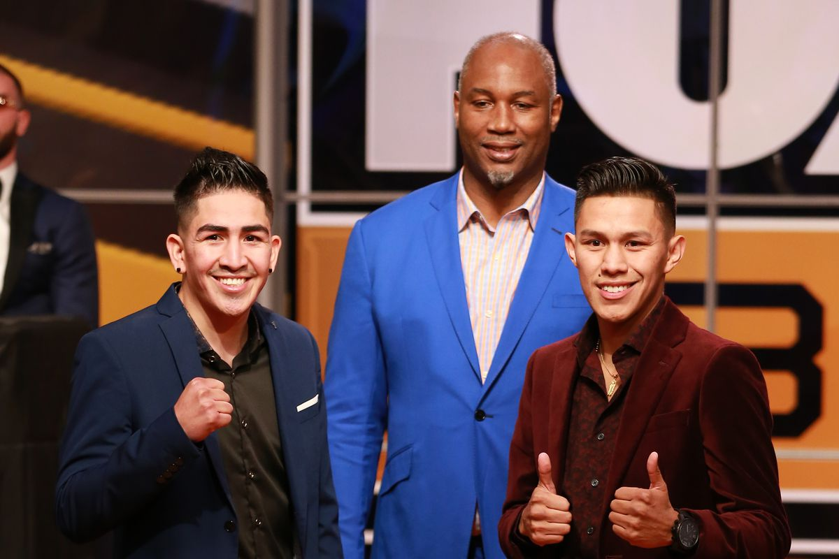 """test Twitter Media - """"Nothing but respect for him outside of the ring, but once we get into the ring I'm definitely going to try and knock him out."""" -@El_Michoacano2   #SantaCruzFlores #WilderOrtiz2 https://t.co/mvT7awKNYU"""