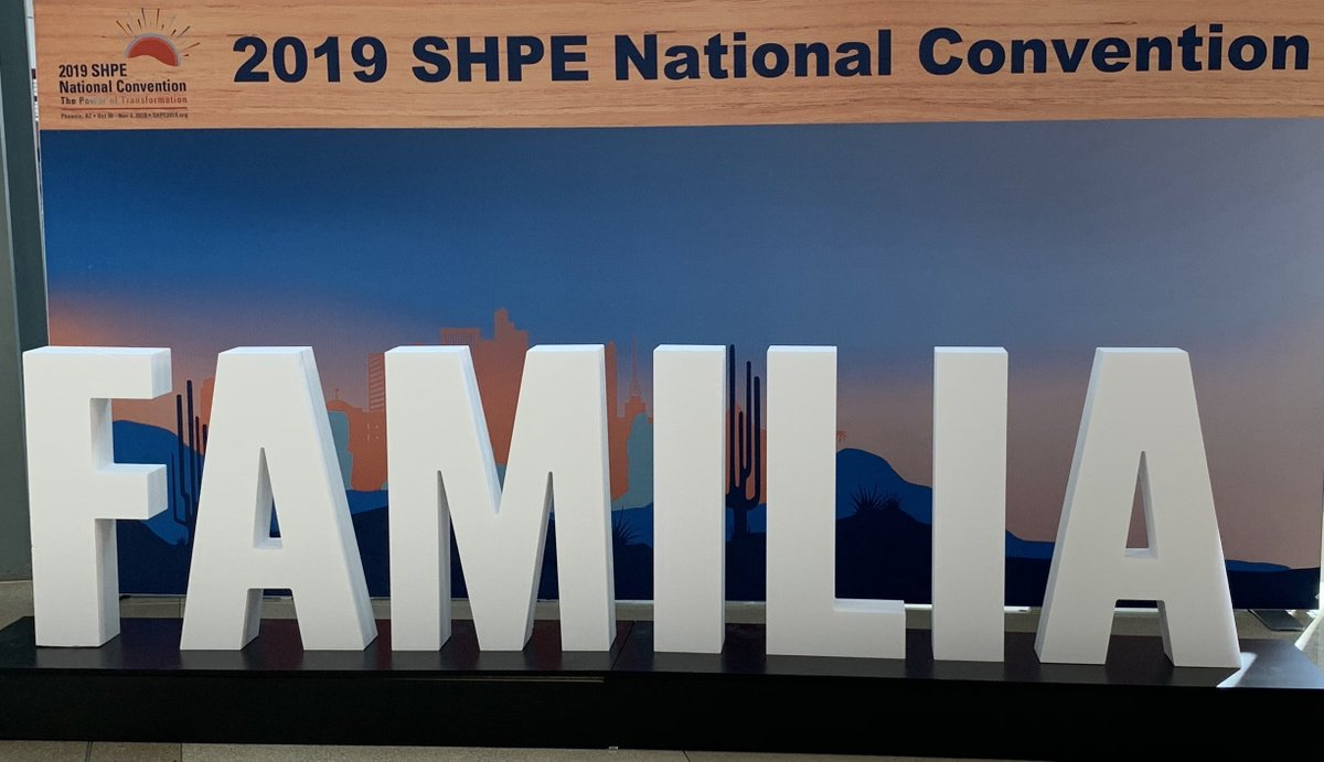 At the #SHPE2019 National Convention last week, we spoke with thousands of Hispanic #STEM students and professionals about how they could apply their knowledge of #science, #technology, #engineering, and #math to the nation's most challenging problems in a career at the CIA.
