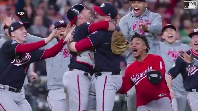 One week ago today, the @Nationals finished the fight.