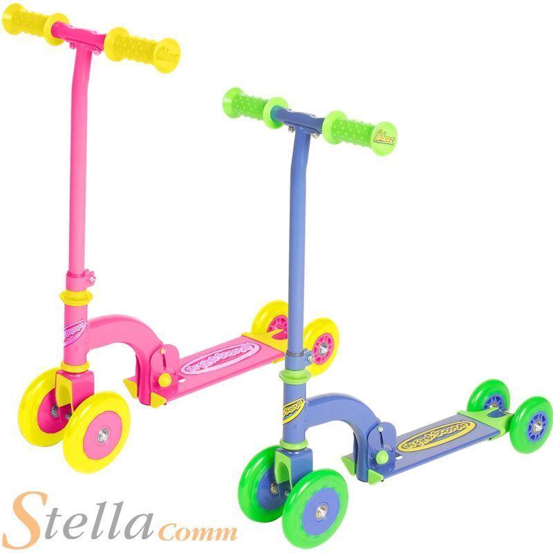 White//Pink New Ozbozz Scissor Scooter