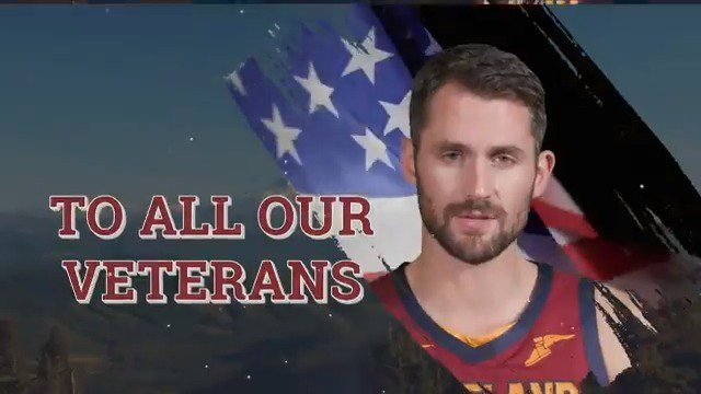 To all our veterans, we salute you. #CavsSalute 🇺🇸