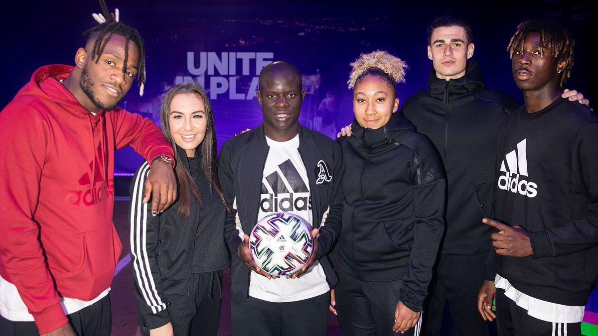 📸 The power of unity lies in football ⚽️ #EURO2020 #Uniforia