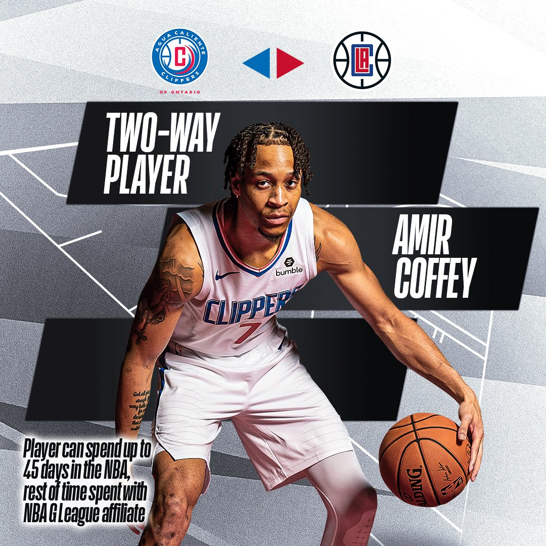 🗣️ Get to know #2WayPlayer Amir Coffey ⤵️  @ACClippers ↔️ @LAClippers