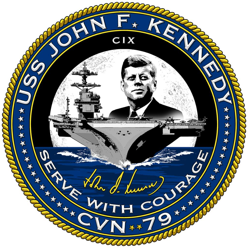 #Breaking: PCU JFK Commanding Officer and Crew Unveil Official Seal -navy.mil/submit/display…