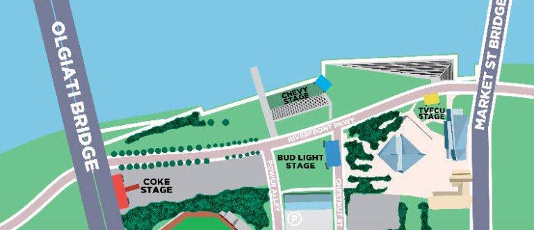 Riverbend Festival 2020.Barry Courter Barryjc Twitter