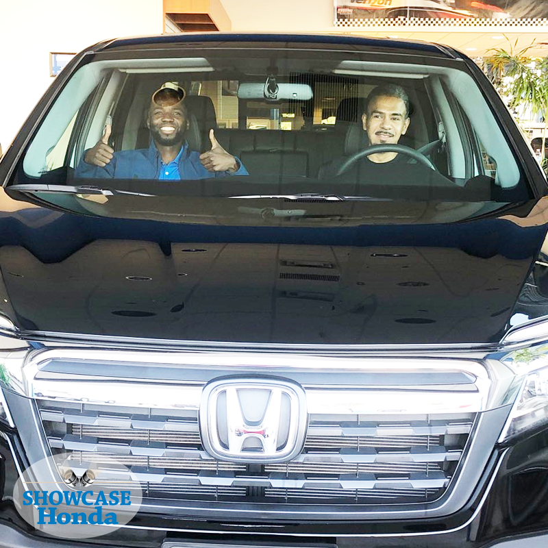 Congratulations Islas on the purchase of his beautiful #2019HondaRidgeline, assisted in the purchase by Brice Kwi If you are interested in a new or quality pre-owned #ShowcaseHonda vehicle, call 602-464-7145 and ask for Brice. #ShowMeTheHonda #HondaRidgeline  #UBSocialConnect