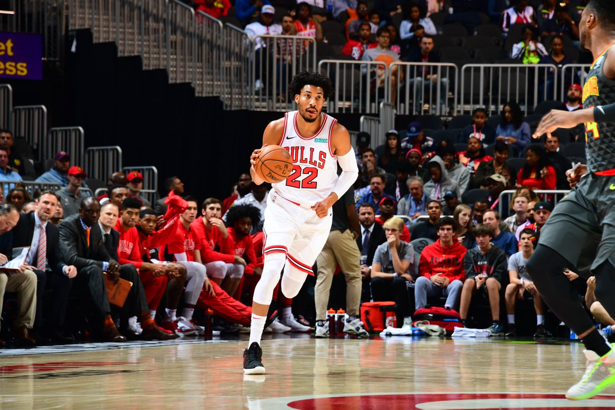Chicago Bulls' Otto Porter Jr. is out with a bruised left foot