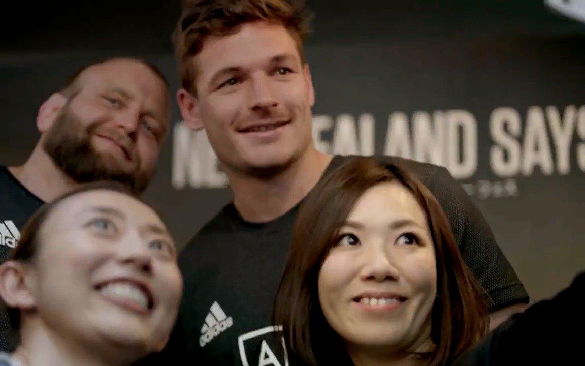 #RWC2019 期間中に日本で受けた『おもてなし』への感謝のメッセージがニュージーランドから届きました🇳🇿🖤🇯🇵 #オールブラックス #NZsays39 @PureNZinJapan @jacindaardern @AllBlacks @rugbyworldcupjp