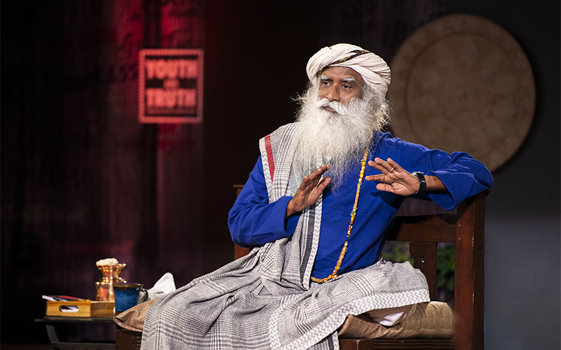 Belief leads people to accept the most ridiculous things as the absolute truth. #SadhguruQuotes