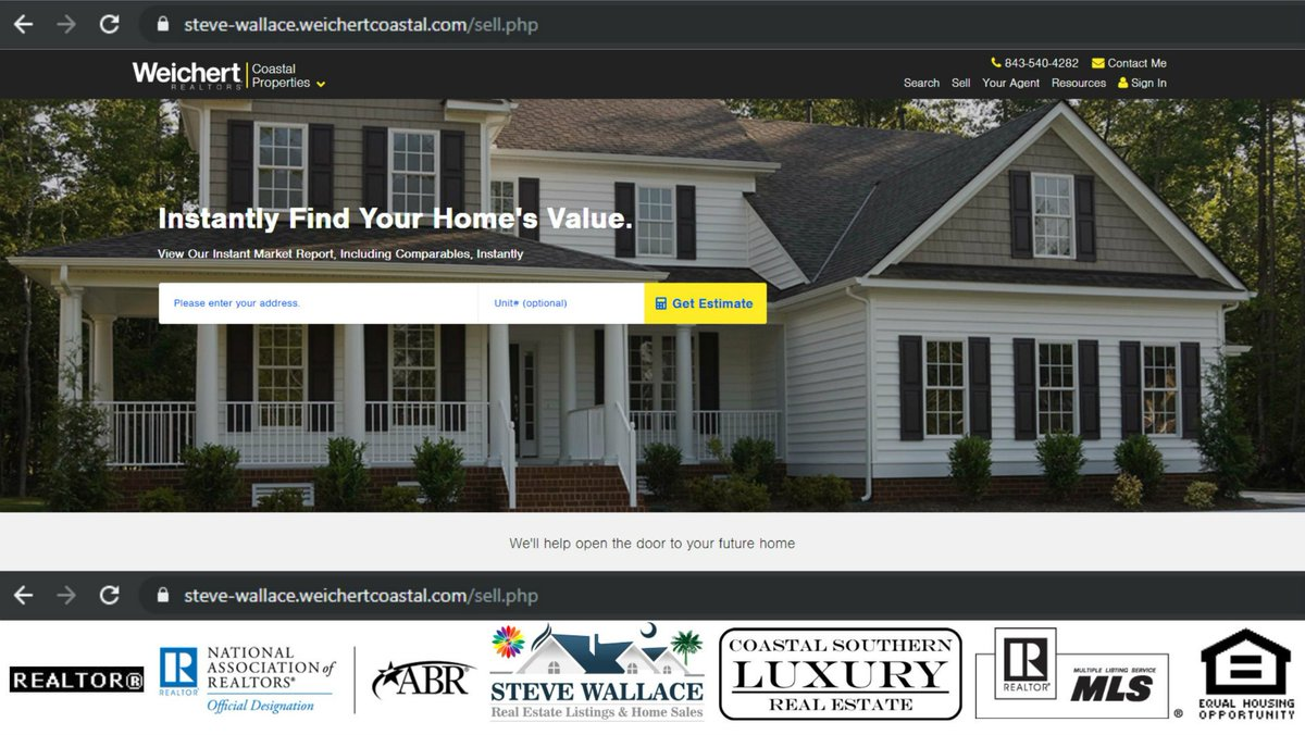 Find immediate value of your home in Bluffton, SC online @: https://steve-wallace.weichertcoastal.com/sell.php  #BlufftonHomeValue, #BlufftonSc, #PropertyValuation, #HomeWorth, #Bluffton, #SellYourHome, #HomeInBluffton, #RealEstate, #BlufftonScRealEstate, #BlufftonRealEstate