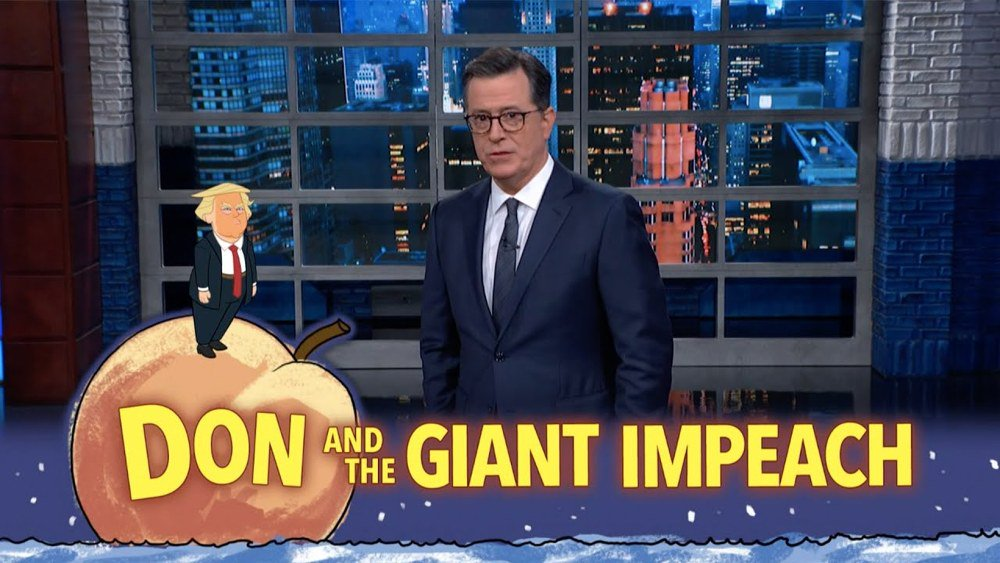 New From Stephen Colbert: Lindsey Graham's Willful Ignorance Will Not Be Enough to Protect Trump [VIDEO]  http:// lgf.bz/2NLpdgF    <br>http://pic.twitter.com/3OPK5iokst