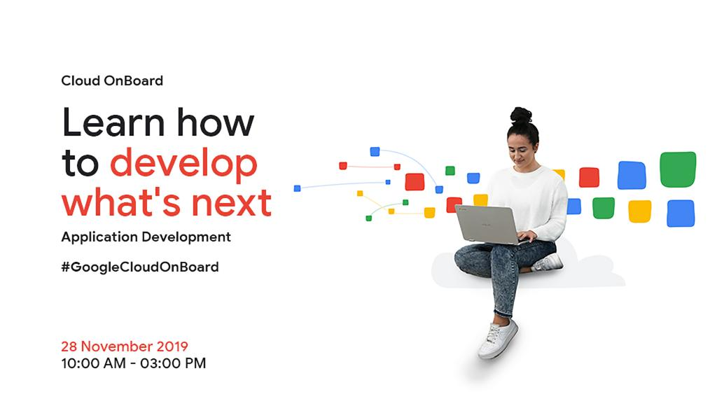 📢We've got great news for all you aspiring developers!  #GoogleCloudOnBoard is back🥳    Tune in to this half-day training session to learn what's next in #ApplicationDevelopment👩💻👨💻  @GoogleCloud_IN   Watch the Livestream 👉 https://t.co/UYXxONolga