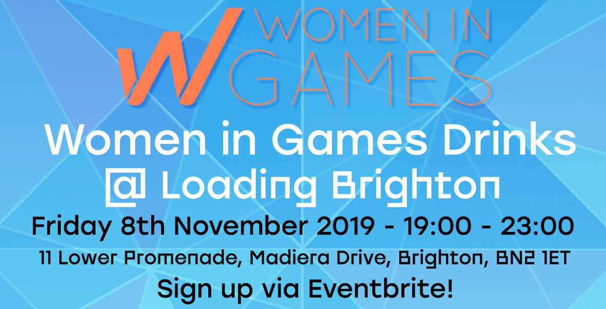 Come and join us at the @wigj drinks Brighton @drinkrelaxplay tomorrow evening!   Sign up for the event here:  https://www. eventbrite.co.uk/e/monthly-wome n-in-games-drinks-tickets-61149157777  …   #womeningames #hangar13games #2kgames #wigj #gamesindustrydrinks #brightongamesindustry <br>http://pic.twitter.com/xO8PkYuzYt