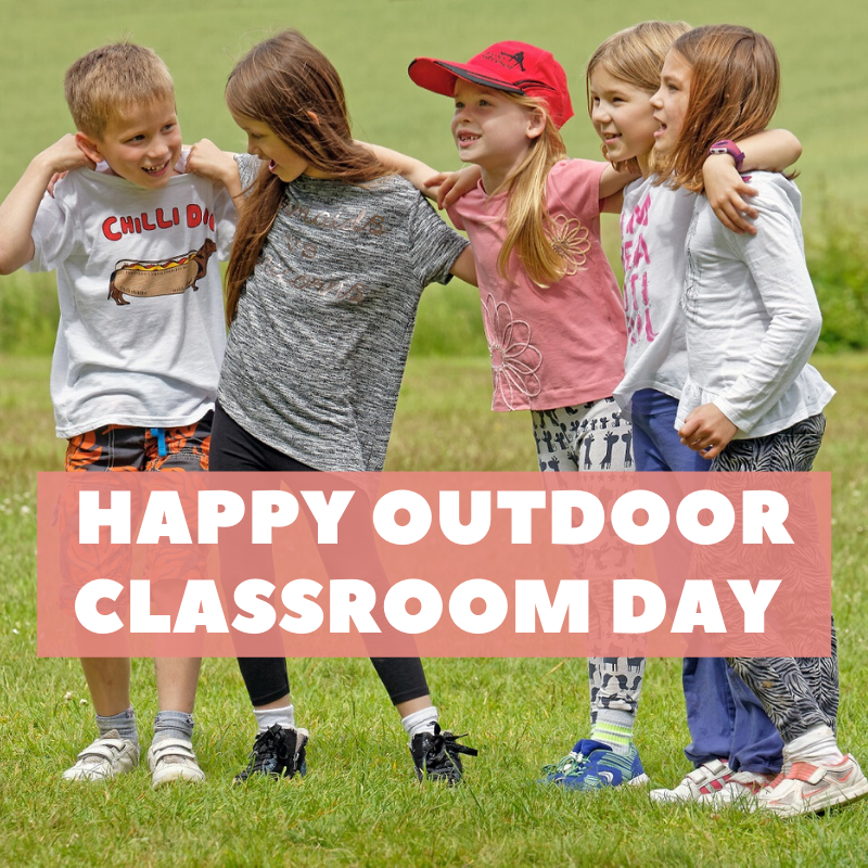 Have a fantastic #OutdoorClassroom Day! So good to see that more than 600,000 children are involved and inspired to pursue outdoor learning and play around the UK and Ireland 🐞🍃 https://t.co/qlqPnL0f4w