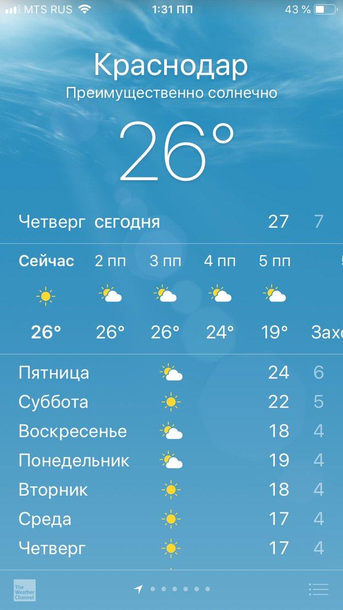 краснодар погода в картинках тарасова советский российский