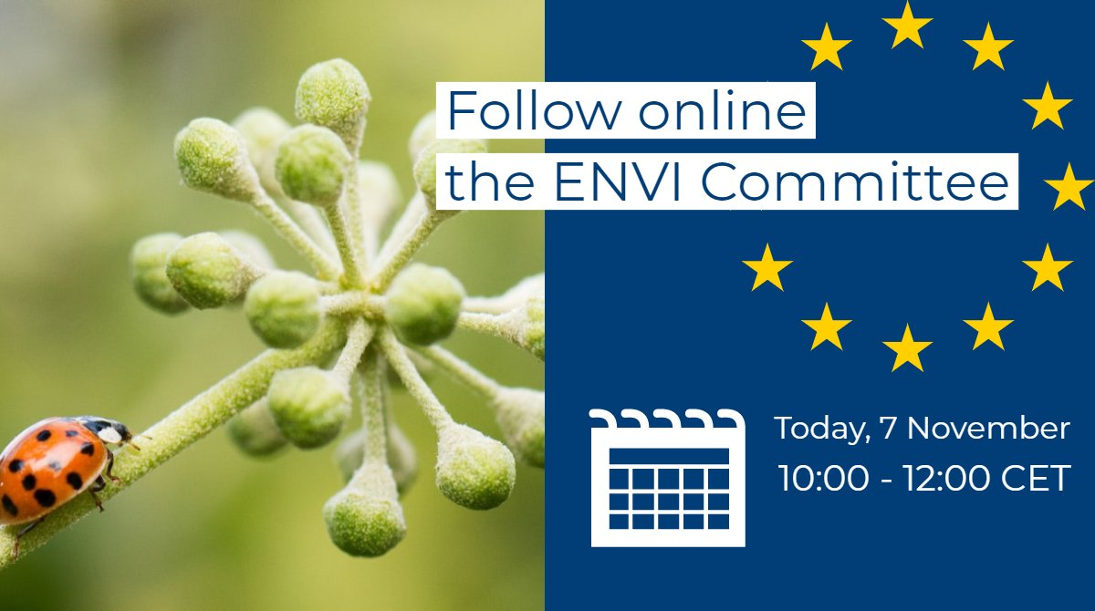 What is the #EU doing to protect the environment? Together with @EMA_News, @EUEnvironment, @ECDC_EU and @EFSA_EU, we are presenting our added value to citizens at the European Parliament's ENVI committee today. Follow the hearing! 🔗bit.ly/2WLXj8f.