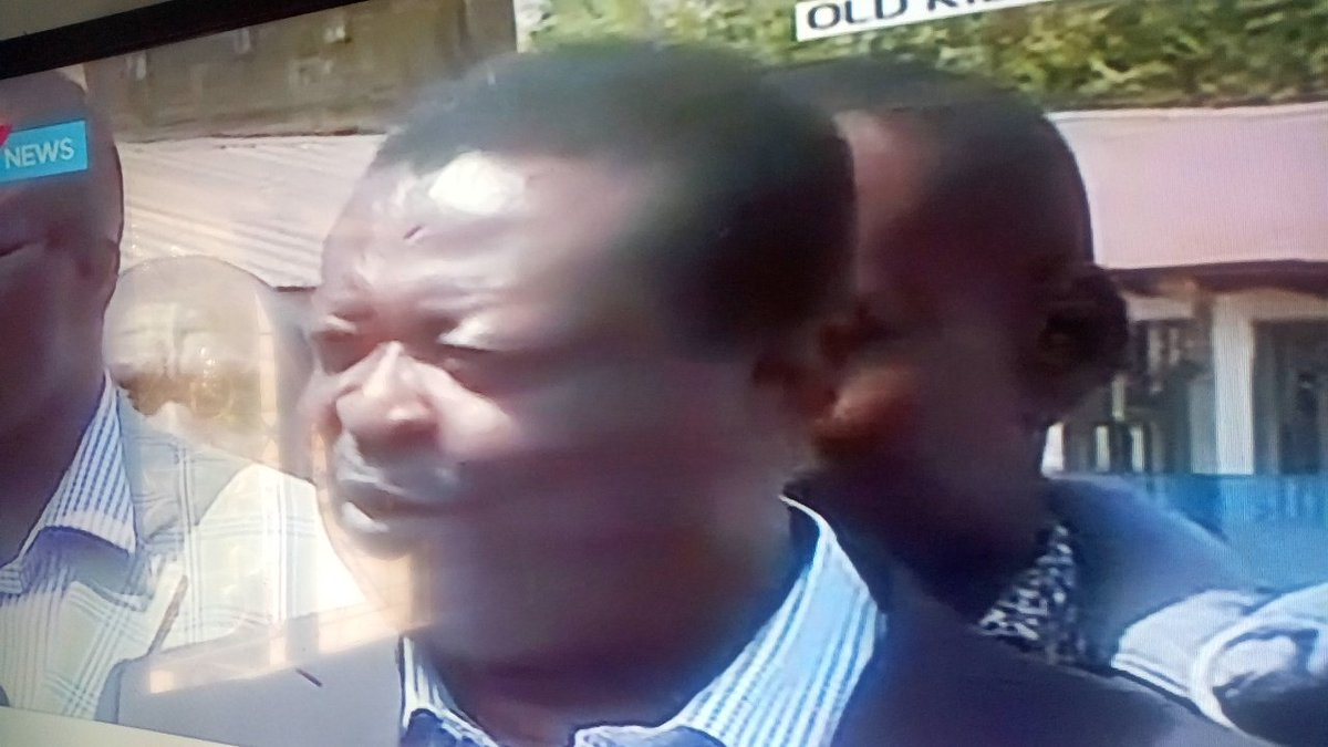 Mudavadi is a clueless http://chap.At Mashimoni polling station, he only reads voter intimidation and not voter bribery #KibraDecides