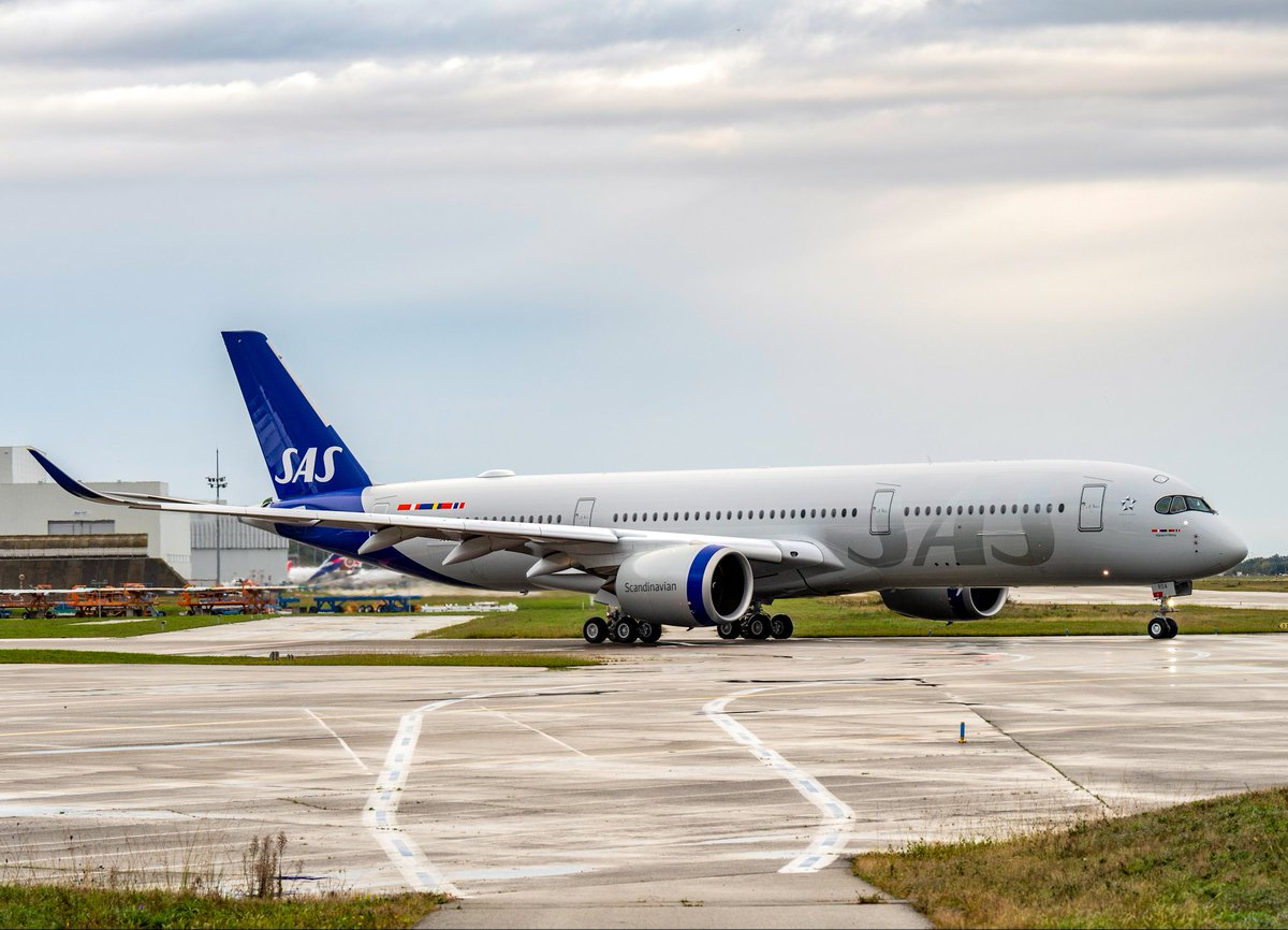 Sas Scandinavian Airlines On Twitter First Flight Yesterday Name Day Today Ingegerd Viking Our New Airbus A350 Is Having A Pretty Great Week Flysas Wearetravelers Aviation Https T Co Ohscyzyt6c