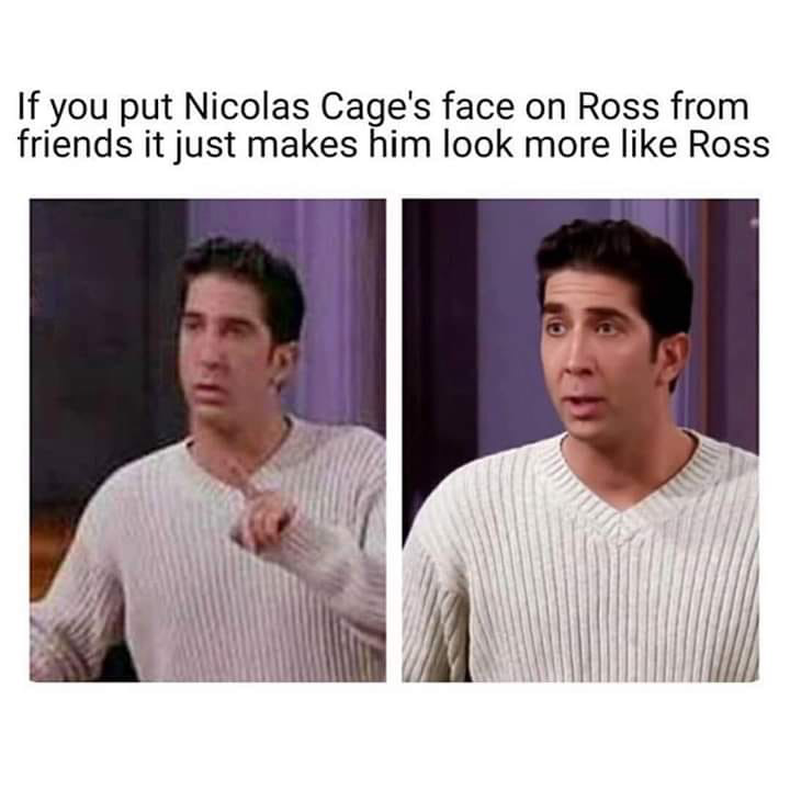 Memes For Tugas On Twitter What Cant Nicolas Cage S Face Do