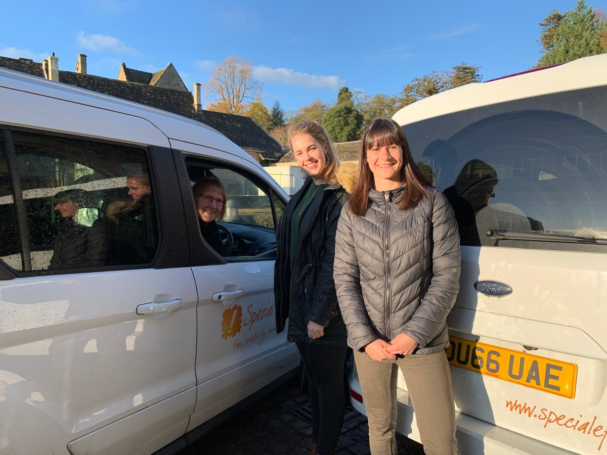 Double dose of van goodness: Gillian Hannah and Frankie about just off to help people in Bristol, Gloucester and Essex today 🕹️