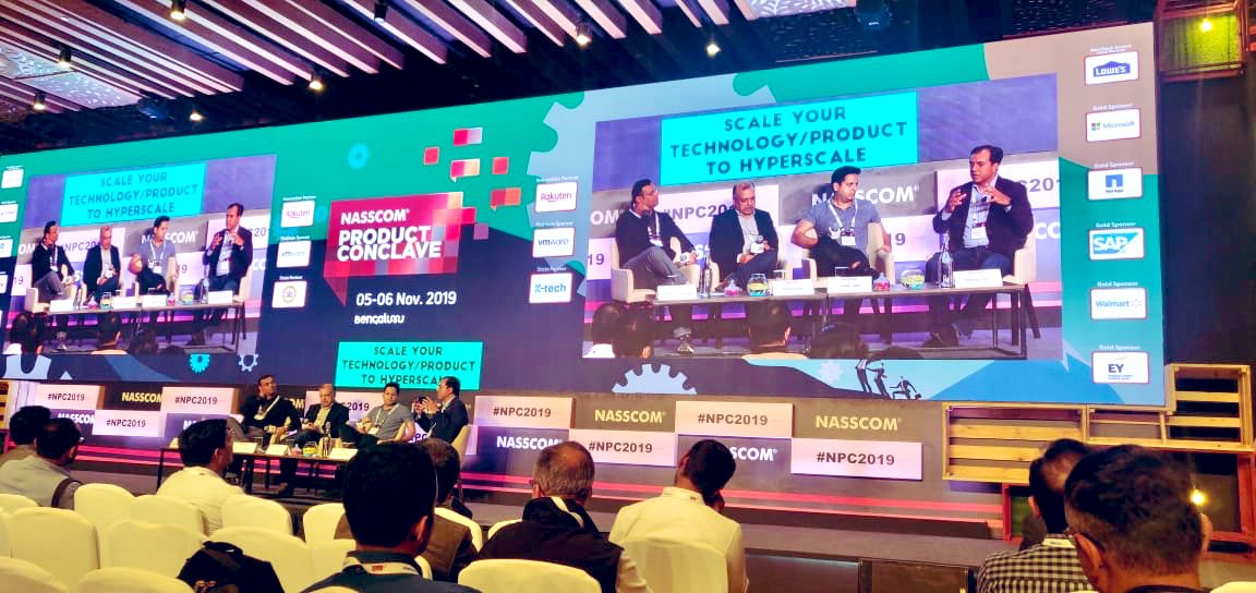 👏👏 team Nasscom for pulling off what has become one of 🇮🇳's best curated & run annual 2 day product + tech gatherings 🙌🏻Was a pleasure for @BlumeVentures to be a key part, and thanks for having us!@debjani_ghosh @atulbat @ravigururaj @NASSCOM_Product #NPC2019 #npc @arpiit