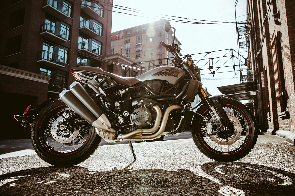 Press Release: Indian Motorcycle Increases Style with New FTR Rally https://t.co/pOFXOhiZw7 https://t.co/l6KR6ulQ4t