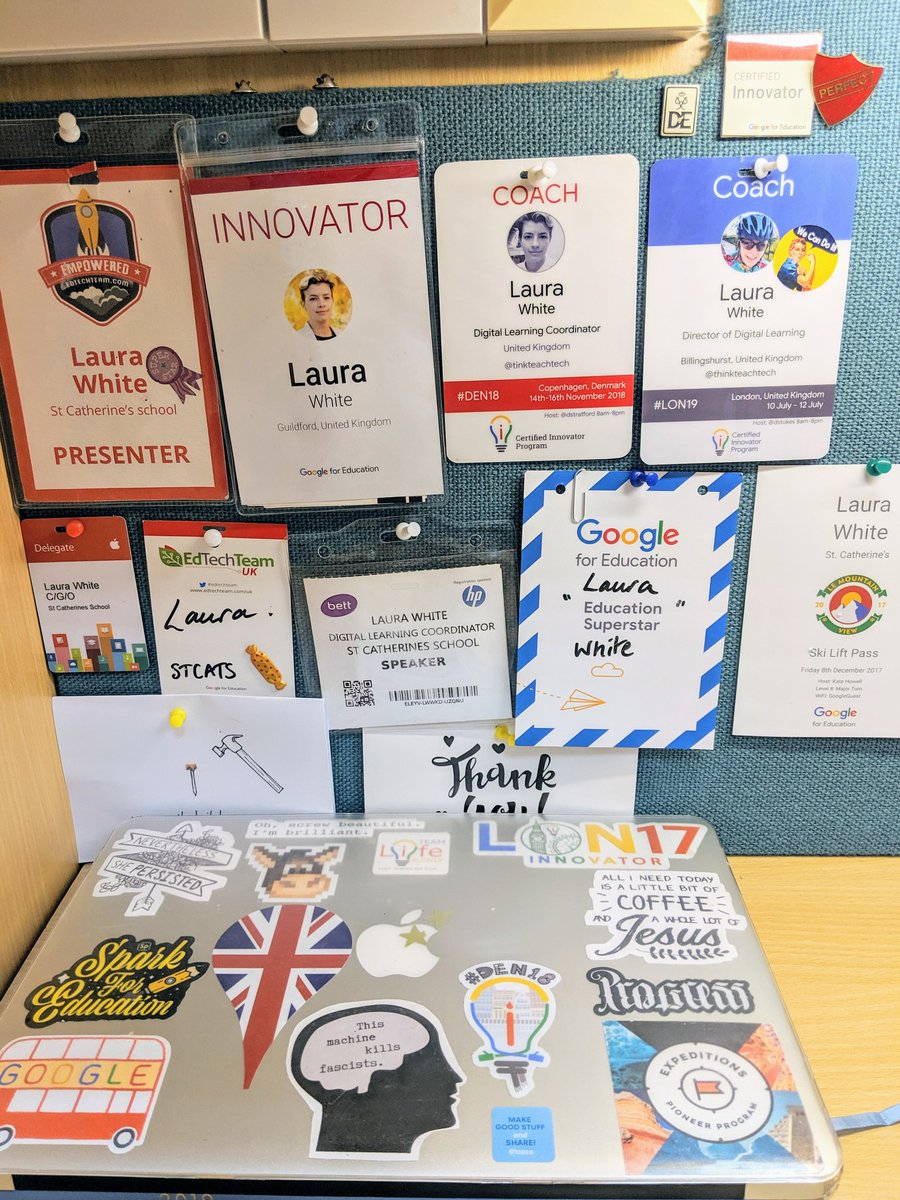 #SWE19 welcome to the Innovator Family! I had no idea the amazing places @GoogleEI would take me. Academy is just the beginning #LON17 #DEN18 #LON19 #enjoythejourney #HyggeItOut #TeamLife https://t.co/VP4tyeyZ9r
