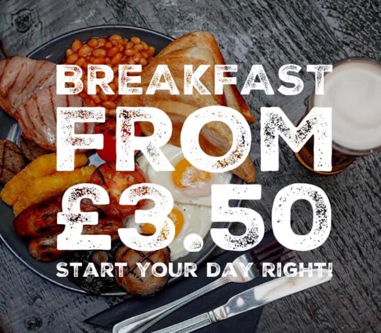 Feeling a little delicate this morning? Don't worry, we can sort you out! Open from 11am - Breakfast from ONLY £3.50!!! 🍳☕️  #breakfastclub #hancockbrekky #freshers2019 #newcastlefreshers #hangovercure
