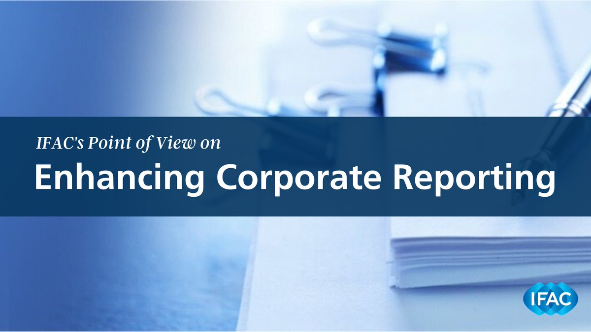 Were excited to host todays @theiirc Council meeting, particularly at this is seminal moment for corporate reporting. We address the future of reporting, and the role accountants must play in it, in our new Point of View: Enhancing Corporate Reporting bit.ly/2PWdKgJ