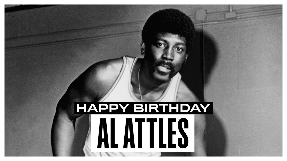 Join us in wishing a Happy 83rd Birthday to @warriors legend, player, coach & executive, and 2019 @Hoophall inductee, Al Attles! #NBABDAY