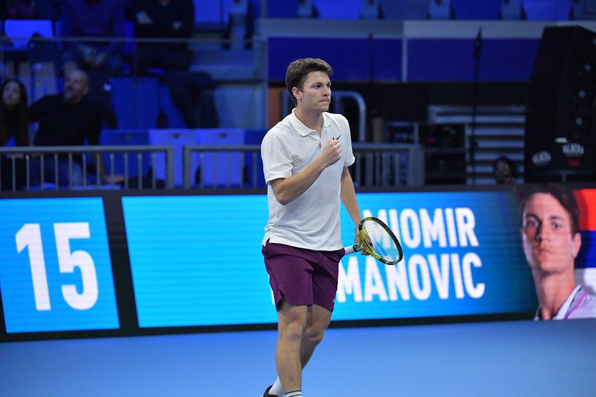Next Gen ATP Finals. Де Минор и Кецманович вышли в полуфинал