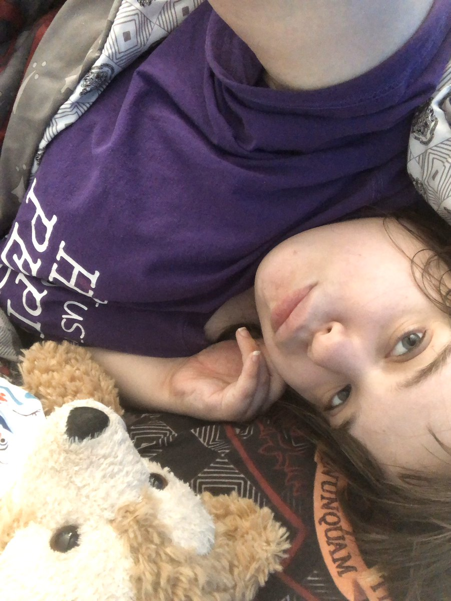 Me and Duffy the Disney bear 🧸 relaxing bed together watching YouTube videos 🧸💜🧸 @YouTube #disneygirl #duffythedisneybear #Selfie #beautiful #BestFriends