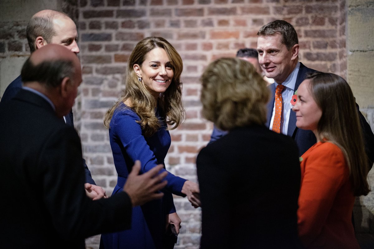 Kate Middleton Turns Heads In Gorgeous Royal Blue Dress In London