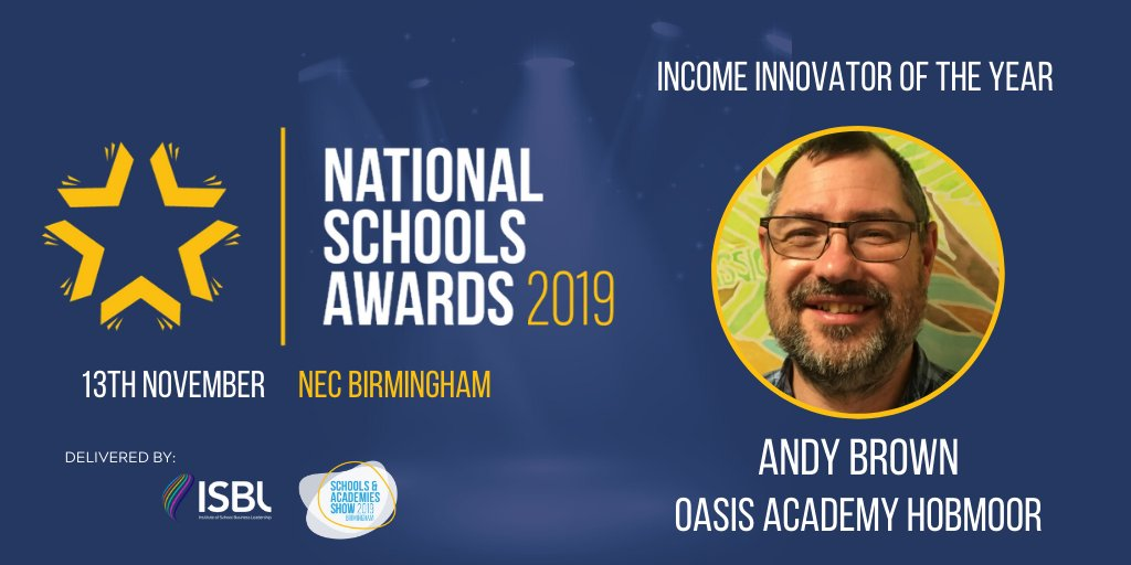 NOMINEE SHOUTOUT: Congratulations to Andy Brown of the @OAHobmoor! Youve been nominated for the Income Innovator of the Year award at the #NSAwards 2019!