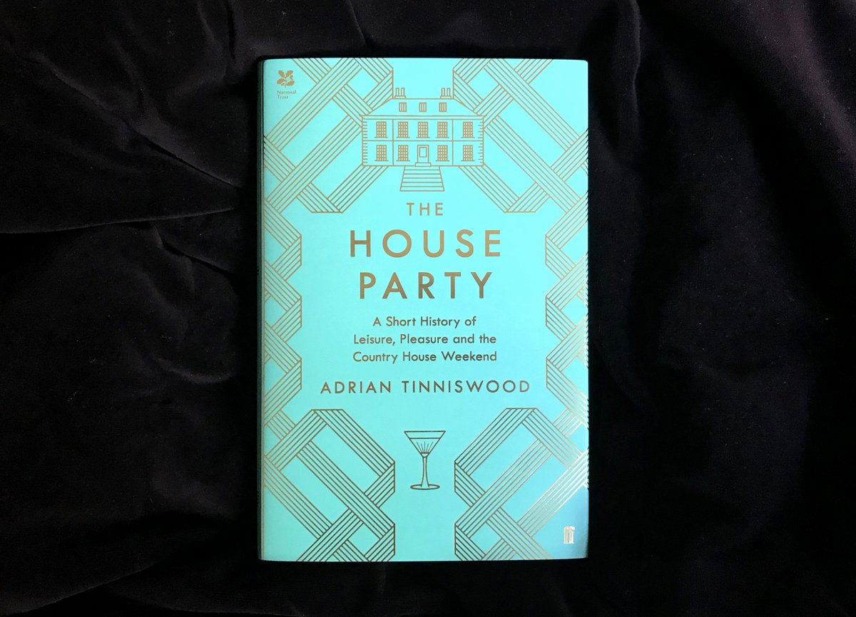 A delightful journey through the glamorous English country house party by bestselling historian @AdeTinniswood. The House Party is out today 🥂