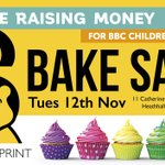 Image for the Tweet beginning: BAKE SALE in aid of