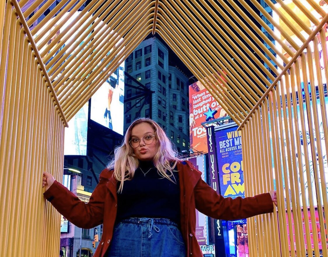 Some fun from our first day in the big Apple!🤩🍎