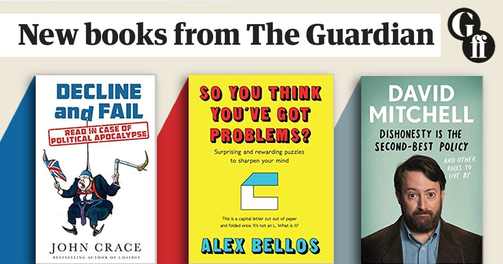 Happy publication day to @JohnJCrace @alexbellos and @RealDMitchell 🎉 New books out today from Guardian Faber @FaberBooks Find out more here: guardianbookshop.com/gb-books-publi…