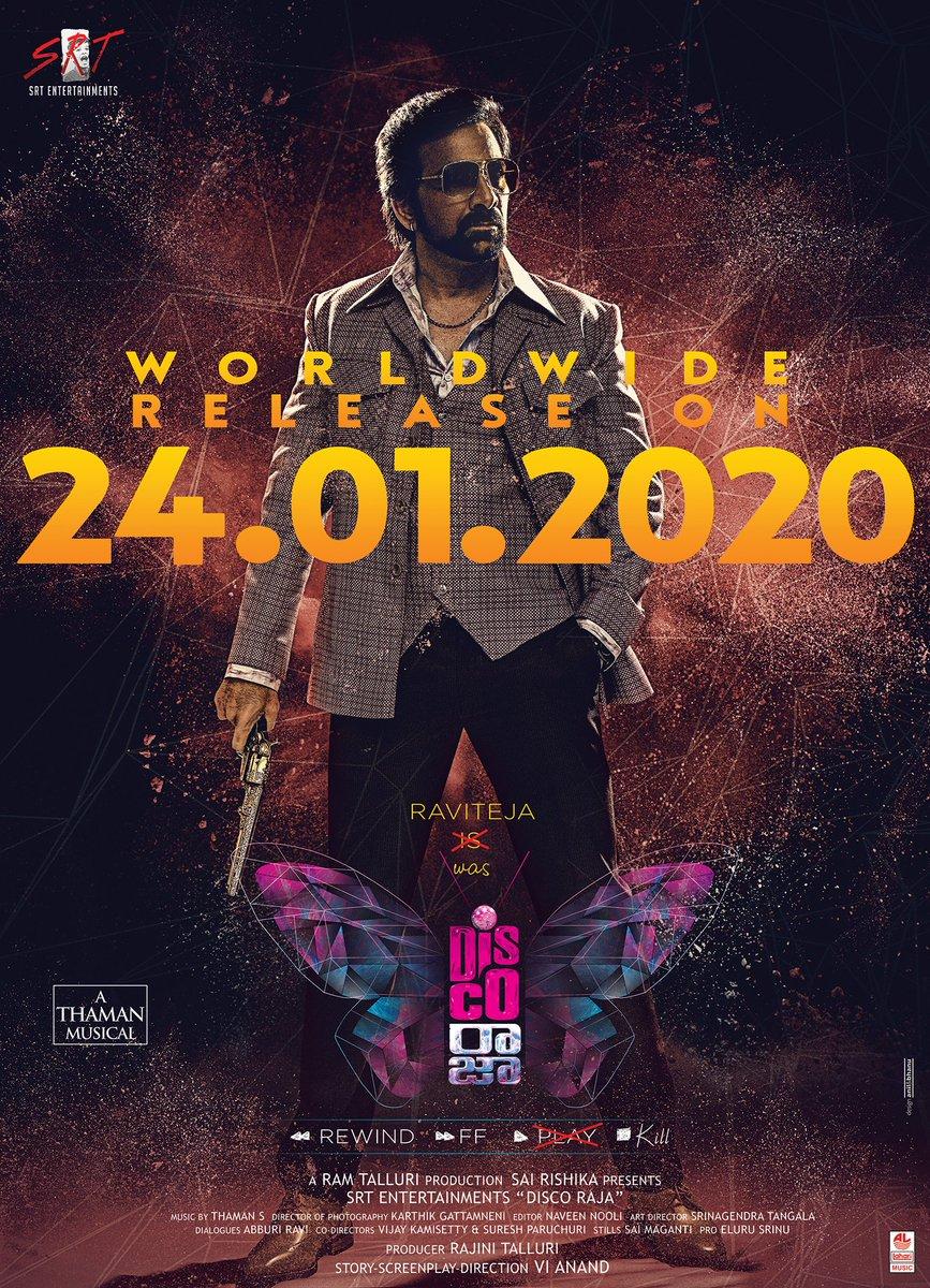 Disco Raja release date