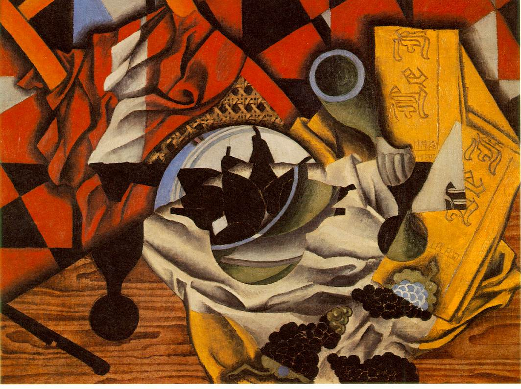 Pears and grapes on a table, 1913 #spanishart #juangris <br>http://pic.twitter.com/dJiHLRCEmQ