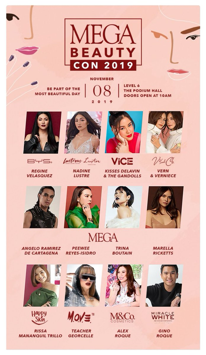 So excited to be reunited with my favorites tomorrow!!! #MEGABeautyCon2019 <br>http://pic.twitter.com/ao2DvSUlz1