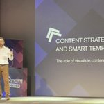 Image for the Tweet beginning: Insightful keynote Smart Templates for